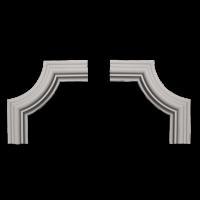 Éléments d'angles pour cimaises