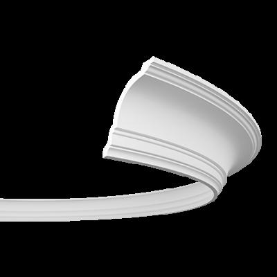 CORNICHE de plafond flexible POLYURÉTHANE F1.108