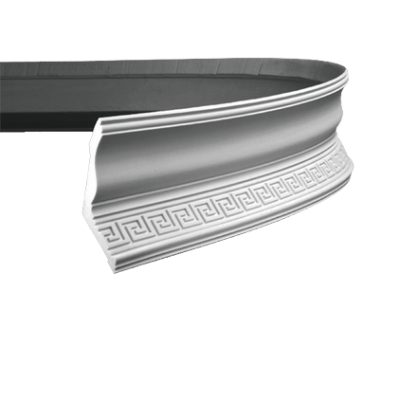 CORNICHE de plafond flexible POLYURÉTHANE F1.118