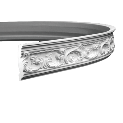 CORNICHE de plafond flexible POLYURÉTHANE F1.124