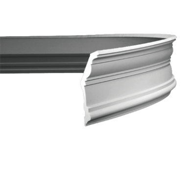 CORNICHE de plafond flexible POLYURÉTHANE F1.132