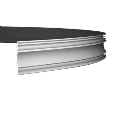 CORNICHE de plafond flexible POLYURÉTHANE F1.139
