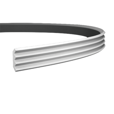 CORNICHE de plafond flexible POLYURÉTHANE F1.140