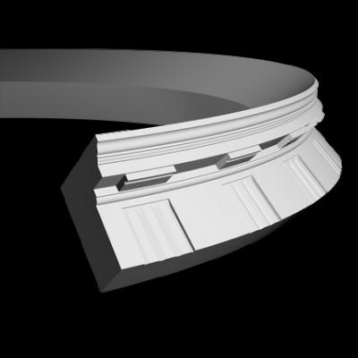 CORNICHE de plafond flexible POLYURÉTHANE F1.151
