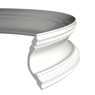 CORNICHE de plafond flexible POLYURÉTHANE F1.164