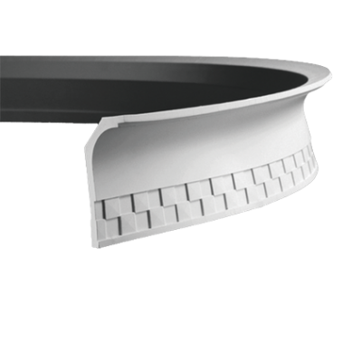 CORNICHE de plafond flexible POLYURÉTHANE F1.176