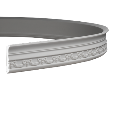 CORNICHE de plafond flexible POLYURÉTHANE F1.186