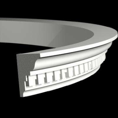 CORNICHE de plafond flexible POLYURÉTHANE F1.196