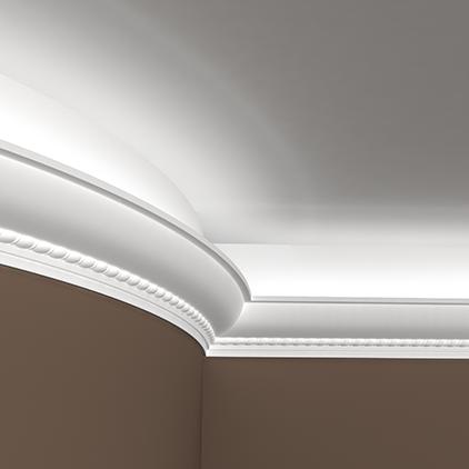 corniche polyur thane pour clairage indirect direct. Black Bedroom Furniture Sets. Home Design Ideas