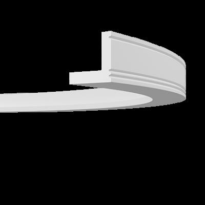 CORNICHE de plafond flexible POLYURÉTHANE F1.226
