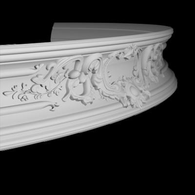 CORNICHE de plafond flexible POLYURÉTHANE F1.252