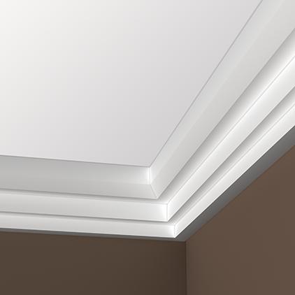 corniche de plafond polyur thane. Black Bedroom Furniture Sets. Home Design Ideas