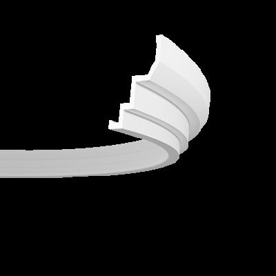 CORNICHE de plafond flexible POLYURÉTHANE F1.260