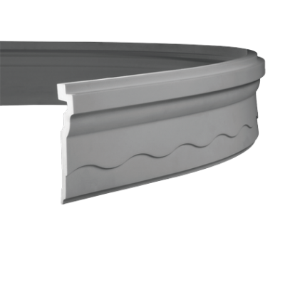 CORNICHE de plafond flexible POLYURÉTHANE F1.268