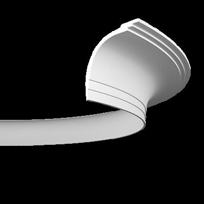 CORNICHE de plafond flexible POLYURÉTHANE F1.271