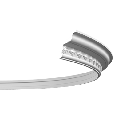CORNICHE de plafond flexible POLYURÉTHANE F1.278