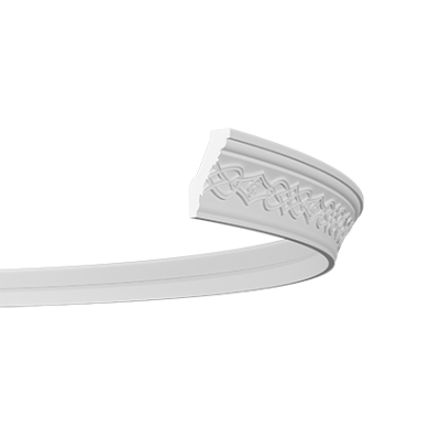 CORNICHE de plafond flexible POLYURÉTHANE F1.282