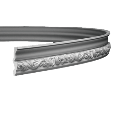 CORNICHE de plafond flexible POLYURÉTHANE F1.259