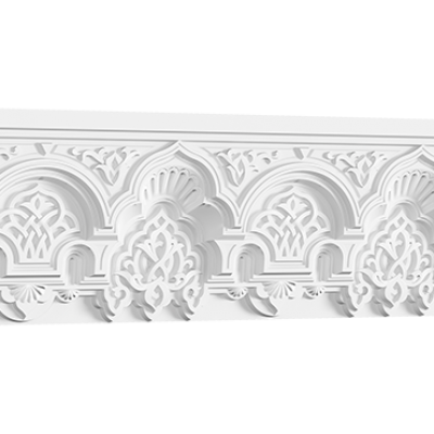CORNICHE de plafond POLYURÉTHANE 50.502