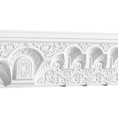 CORNICHE de plafond POLYURÉTHANE 50.524