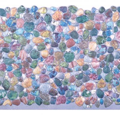 Panneau décoratif mural PVC 95x47cm, 50913