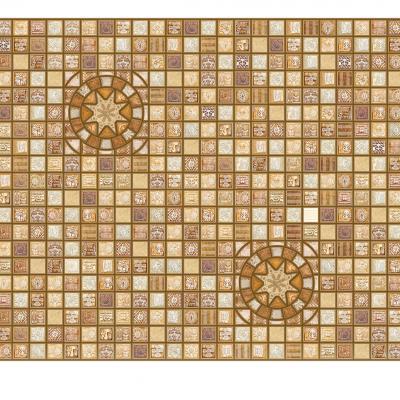 Panneau décoratif mural Mosaïque PVC 95x48cm 51675