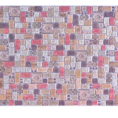 Panneau décoratif mural Mosaïque PVC 94x47cm 52535