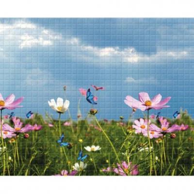 Panneau décoratif mural Mosaïque PVC 283x64cm 54249