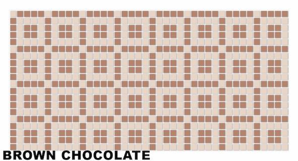 Brown chocolate mosaic1