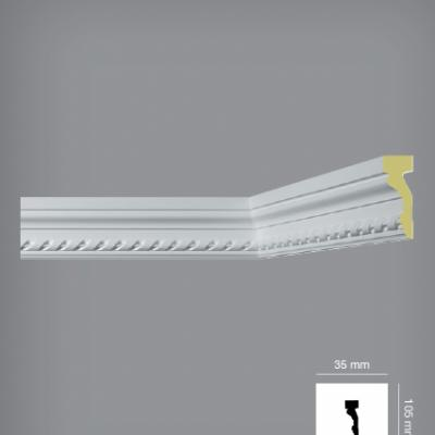 CORNICHE de plafond POLYURÉTHANE C3001