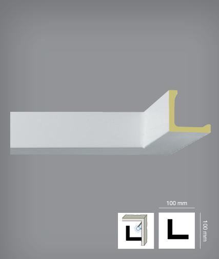 corniche de plafond led polyur thane. Black Bedroom Furniture Sets. Home Design Ideas