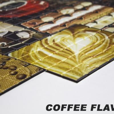 Panneau décoratif mural Mosaïque PVC 95x48cm COFFEE FLAVOUR