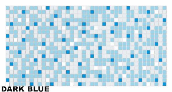 Dark blue mosaic1