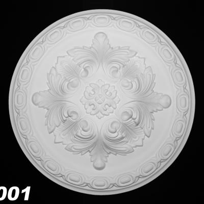 ROSACE de plafond POLYURÉTHANE FH5001 diam 29.4cm