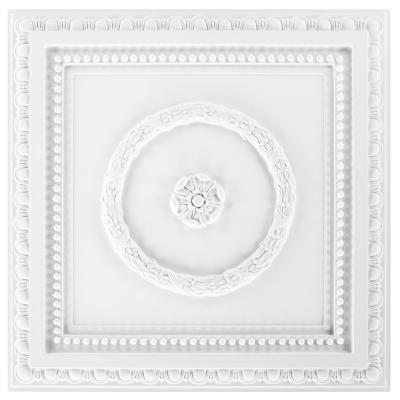 Dalle de plafond polyuréthane Antichoc 60x60cm  FH5082
