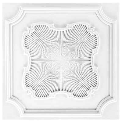 Dalle de plafond polyuréthane Antichoc 60x60cm  FH5084