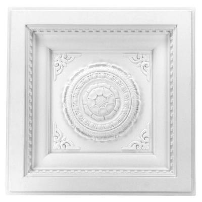 Dalle de plafond polyuréthane Antichoc 60x60cm FR8094