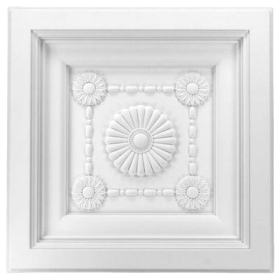 Dalle de plafond polyuréthane Antichoc 60x60cm FR8099