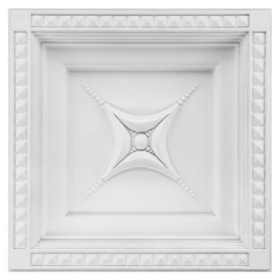 Dalle de plafond polyuréthane Antichoc 60x60cm FR8101