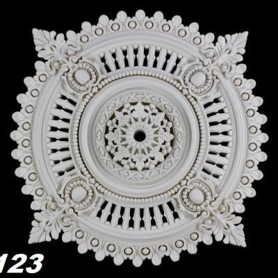 ROSACE de plafond POLYURÉTHANE FR8123 diam 64.3cm