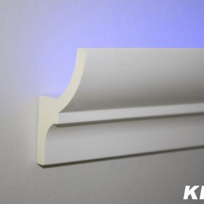 CORNICHE DE PLAFOND ÉCLAIRAGE INDIRECT KF701