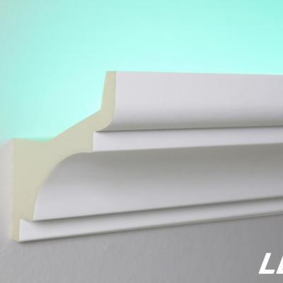 CORNICHE DE PLAFOND ÉCLAIRAGE INDIRECT LED-2
