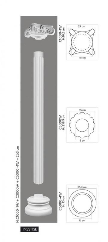 Medium c3000 w 1000w