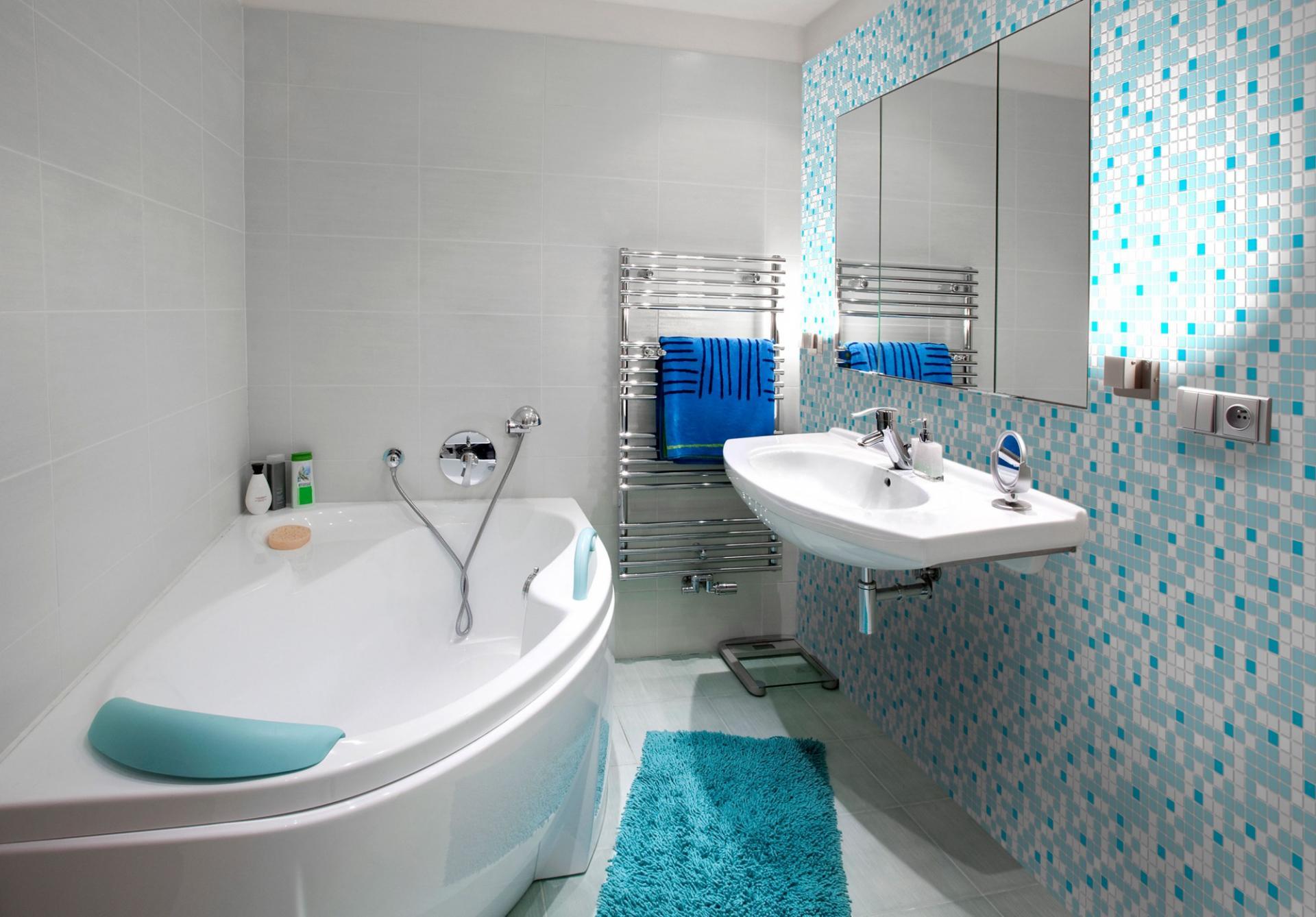 Mosaic blue 2