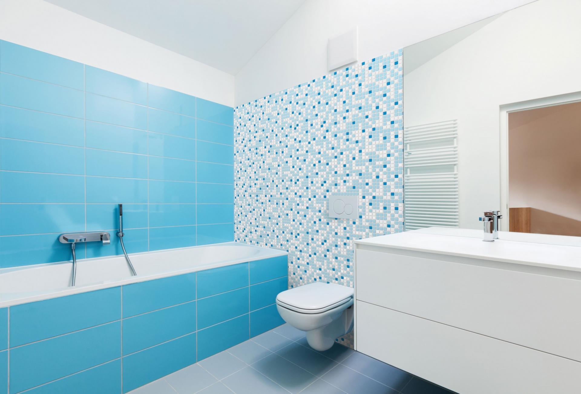 Mosaic dark blue 3