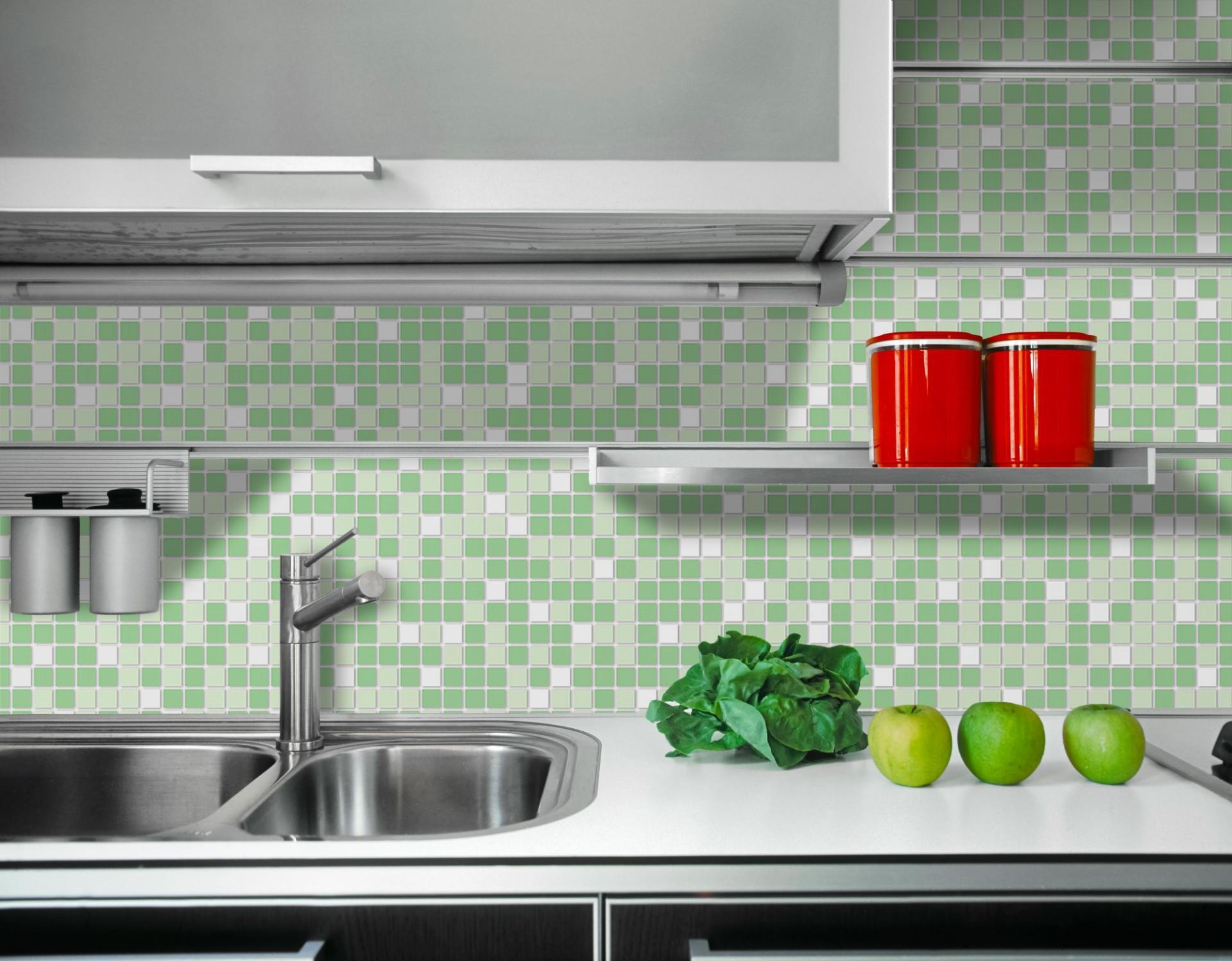 Mosaic green