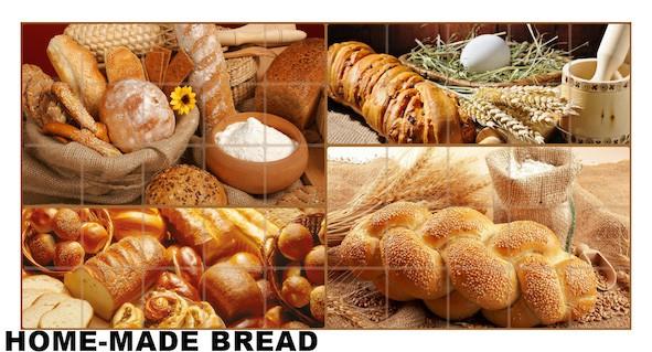 Mosaic home made bread1