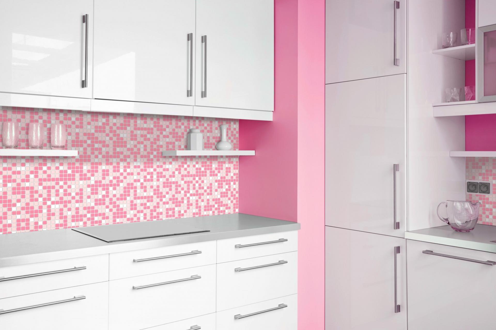 Mosaic pink 2