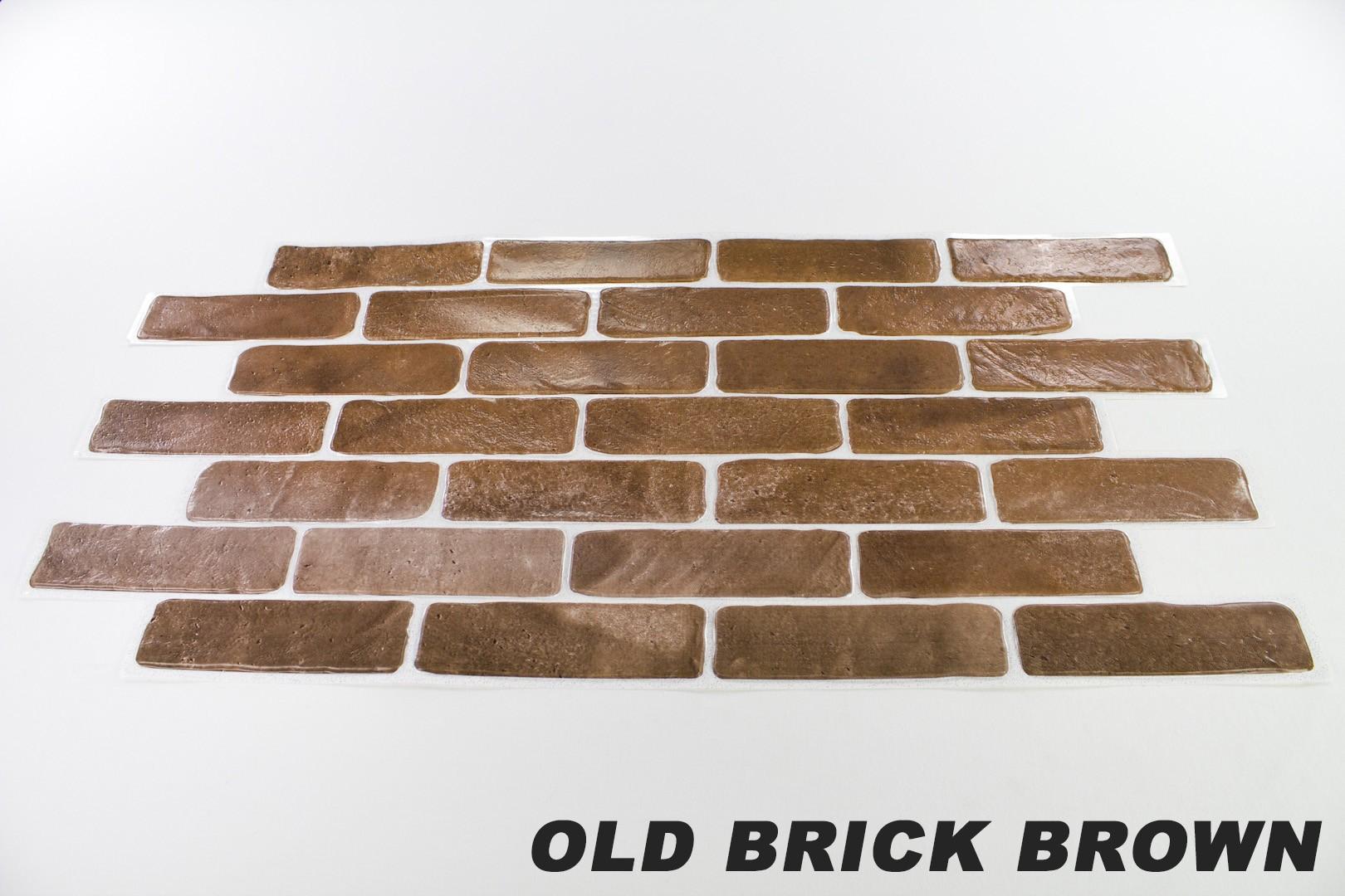 Old brick brown originalbild 1