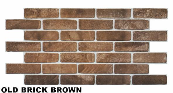 Old brick brown1